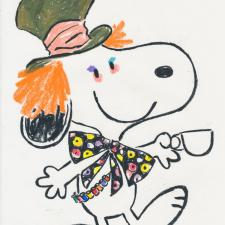 Colleen Atwood Snoopy Sketch, joined SBIF : 2017 Los Angeles